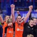 Handbalsters winnen zonder Groot van Roemenië